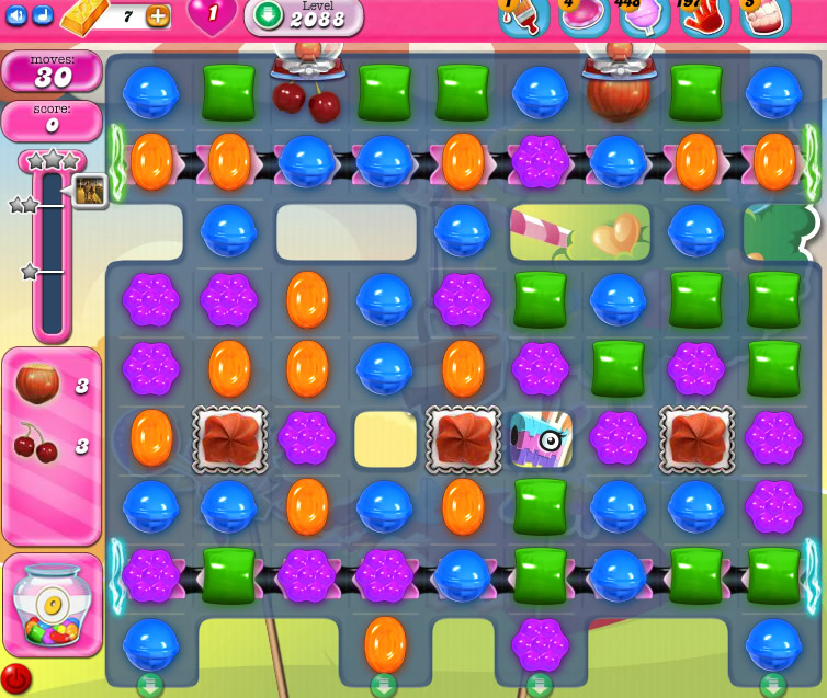 Candy Crush Saga level 2088