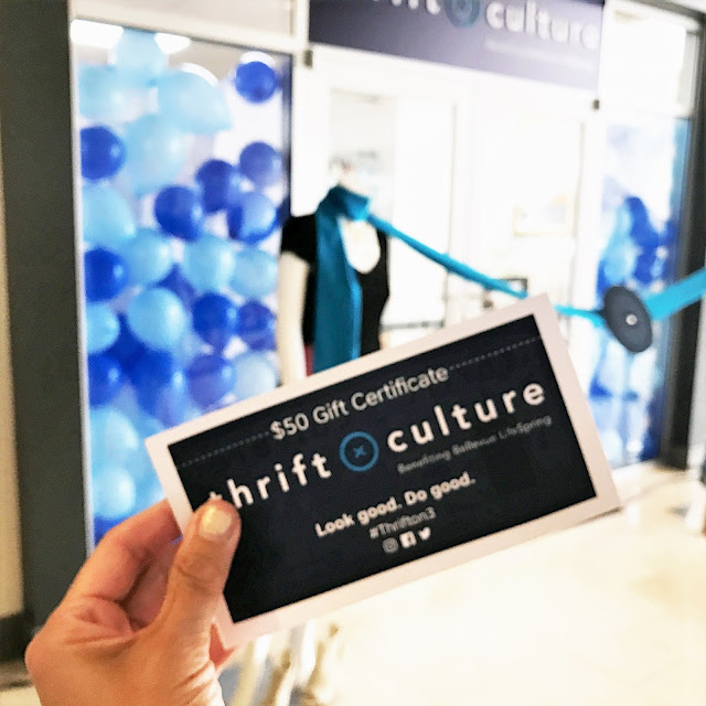GRand opening of thrift culture bellevue Wa