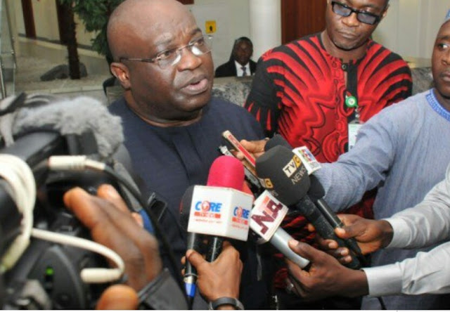 Okezie Ikpeazu reacts to a call to dethrone Nnamdi Kanu's father as traditional ruler