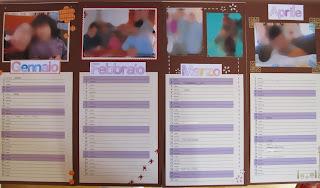 Calendario personalizzato fai da te