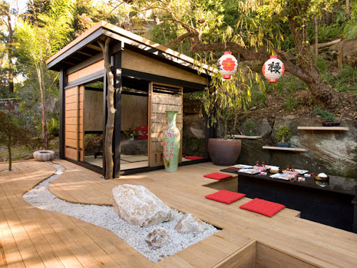 Japanese style backyard landscaping, Backyard design ideas, backyard design landscaping, backyard ideas, landscaping ideas, landscaping ideas for small space, backyard house, backyard house cottage, small backyard houses, backyard house design, backyard playhouse