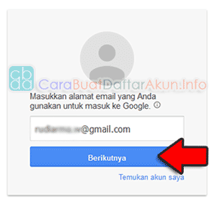 lupa sandi akun google gmail