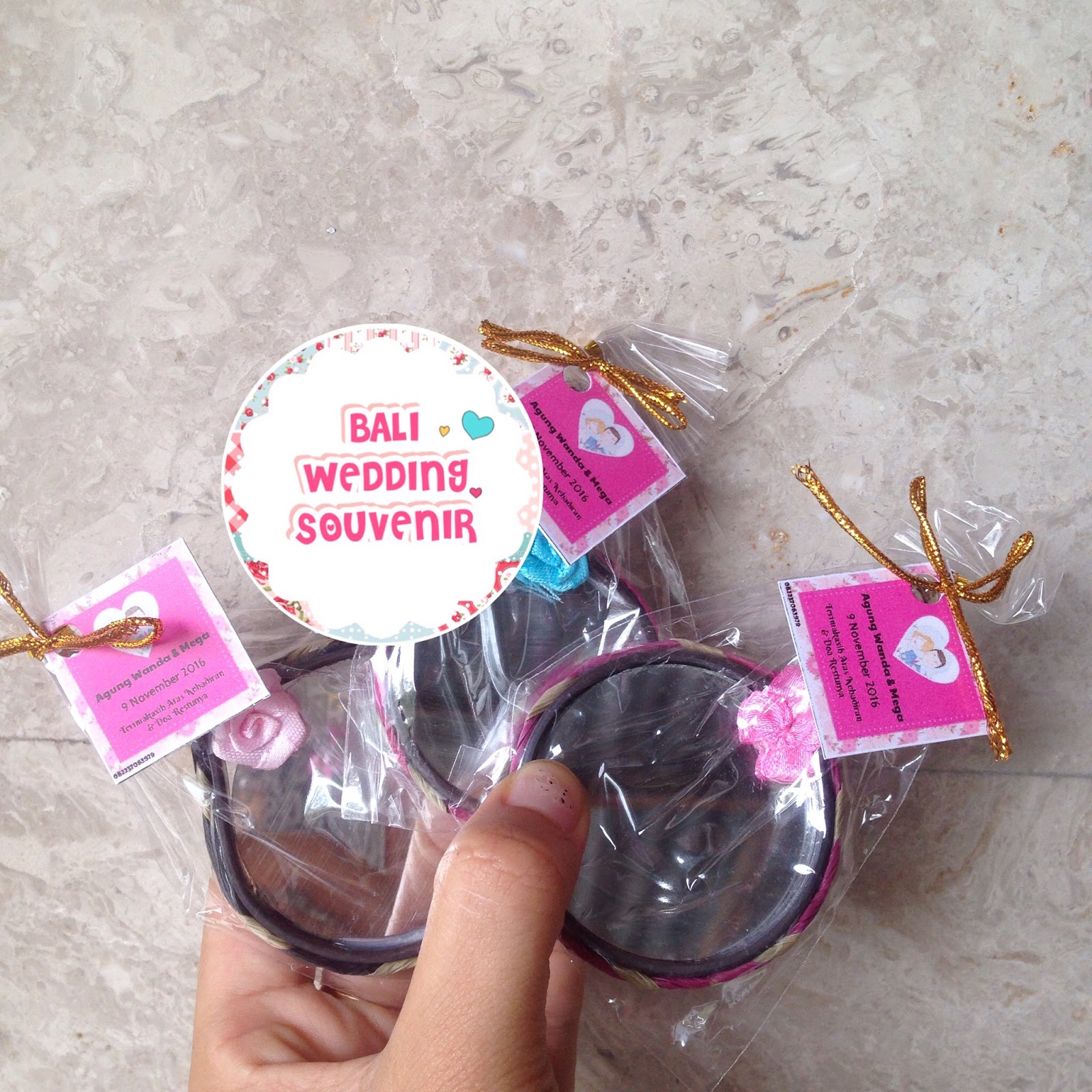 Bali Wedding Souvenir Cermin Sovenir