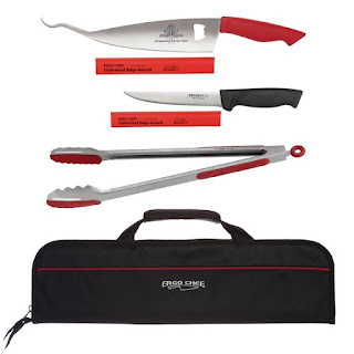 Enter the Ergo Chef/Myron Mixon 6pc BBQ Set Giveaway. Ends 5/14