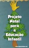 PROJETO NATAL PARA A EDUCAÇÃO INFANTIL