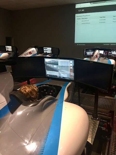 Let's Race F1 simulator #review