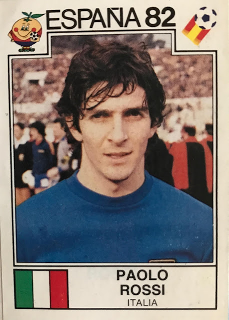 Figurina Paolo Rossi Spagna 82