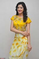 Richa Panai in Yellow Slim Fit Crop top ~ CelebxNext 015.JPG