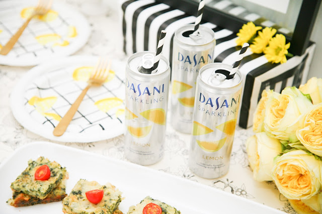 Brunch Party Ideas: Lemon and Stripes Brunch by popular Florida party blogger The Celebration Stylist
