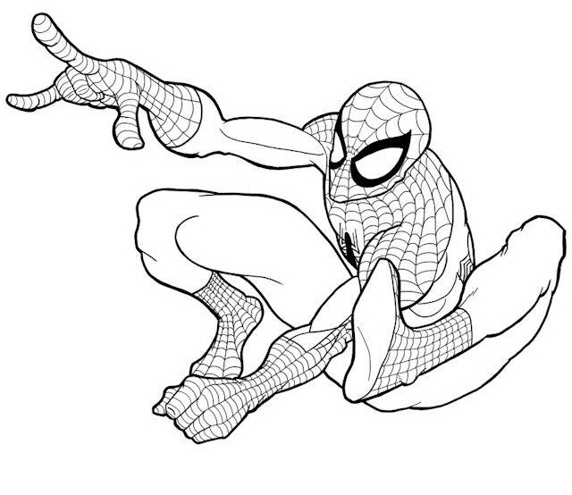 Stampa E Colora: Spider Man