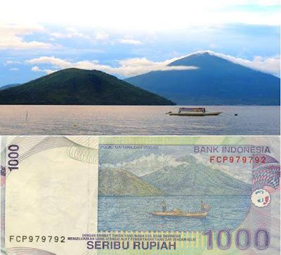 Penampakan Asli Dari Uang Rupiah Indonesia Seribu Rupiah