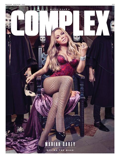 Actress, Singer, @ Mariah Carey - Complex Magazine August/September 2016