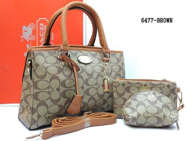 6477 Coach 3in1 Bag Grade Aaa