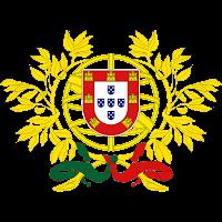 Logo Gambar Lambang Simbol Negara Portugal PNG JPG ukuran 200 px