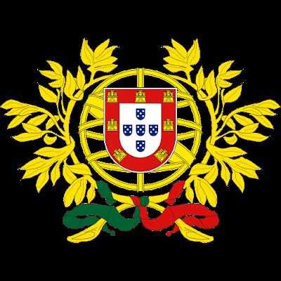 Coat of arms - Flags - Emblem - Logo Gambar Lambang, Simbol, Bendera Negara Portugal