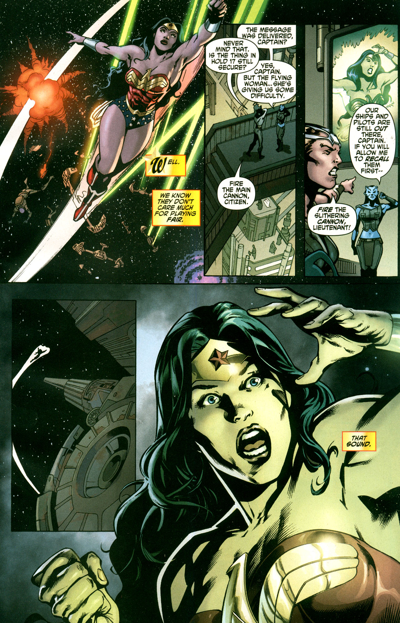 Read online Wonder Woman (2006) comic -  Issue #42 - 21