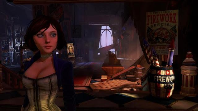 elizabeth in game in bioshock infinite