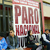 TRABAJADORES DEL PODER JUDICIAL HICIERON PARO DE 72 HORAS