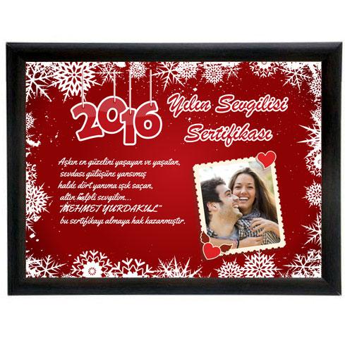 yılın sevgilisi sertifikası