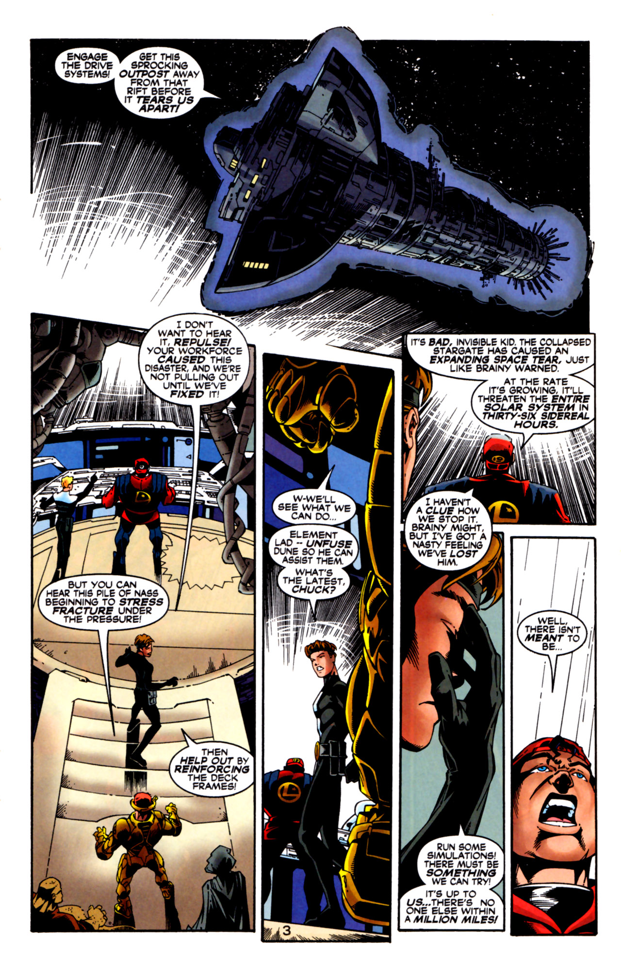 Legion of Super-Heroes (1989) 125 Page 3