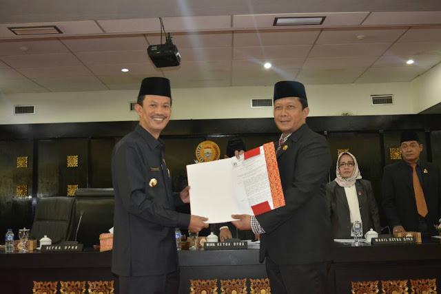 DPRD Kota Palembang Gelar Rapat Paripurna  Laporan LKPJ Walikota Tahun 2016