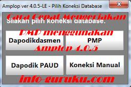Cara Cepat Mengerjakan PMP menggunakan Amplop 4.0.5