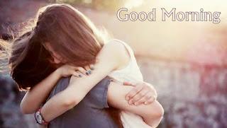 Beautiful Romantic Good Morning Hug Wallpaper