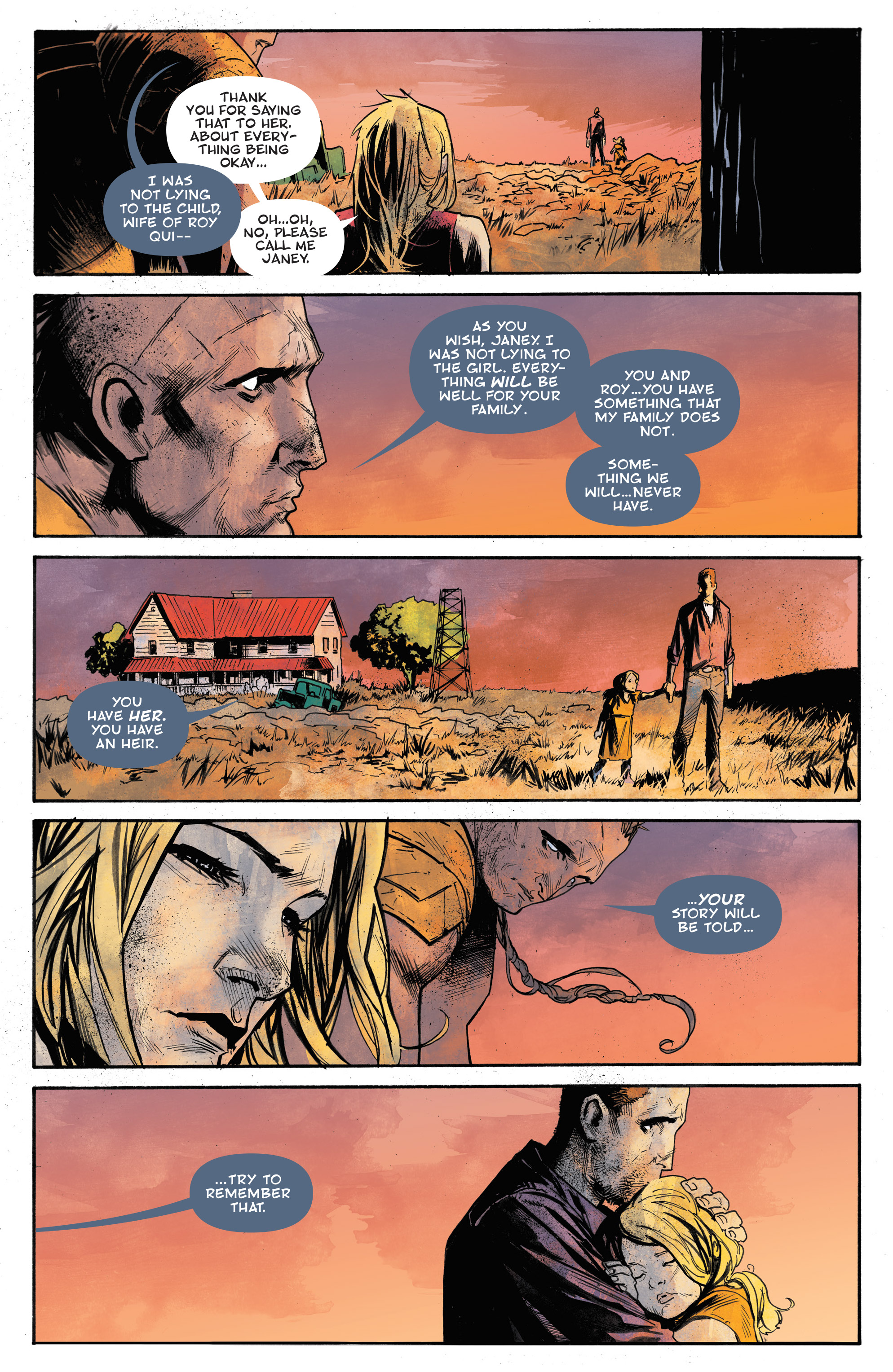 Read online God Country comic -  Issue #6 - 5