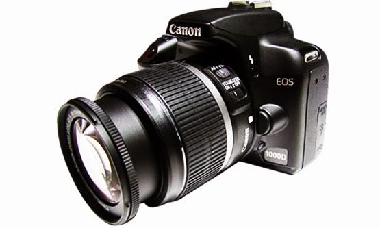 Harga dan Spesifikasi Kamera DSLR Canon EOS 1000D Termurah