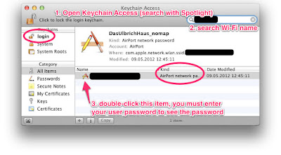 Cara Menampilkan Password Wifi di Mac OS X