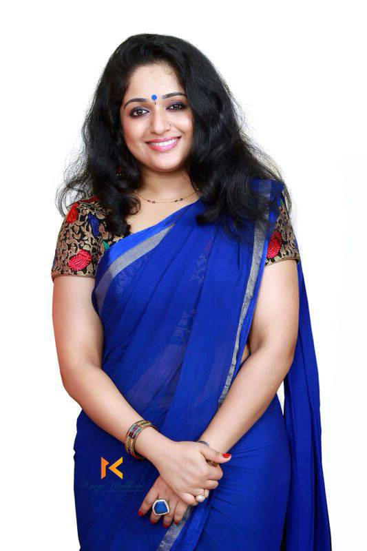 Actress Kavya Madhavan Latest Saree Photos