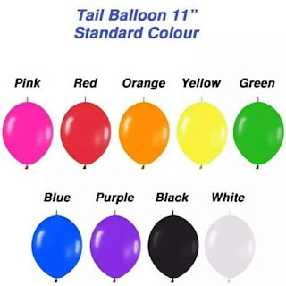 warna balon latek
