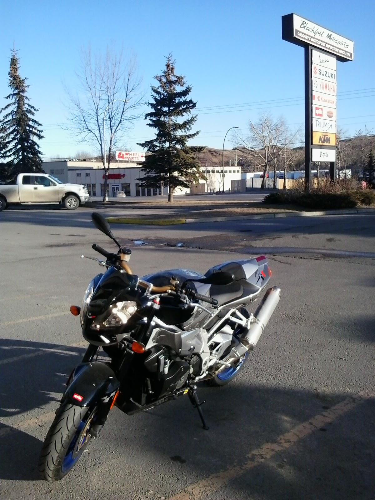 Aprilia Tuono 1000R Blackfoot Motosports