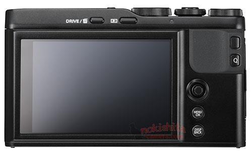 Fujifilm XF10, вид сзади
