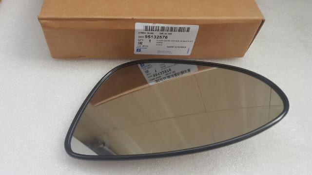 Mặt gương chiếu hậu xe Aveo 2014 chính hãng GM