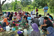 Serda Arbain Hadiri Doa Bersama Petani Desa Mangun Jayo