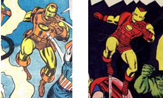 Avengers 5 Kirby Iron Man