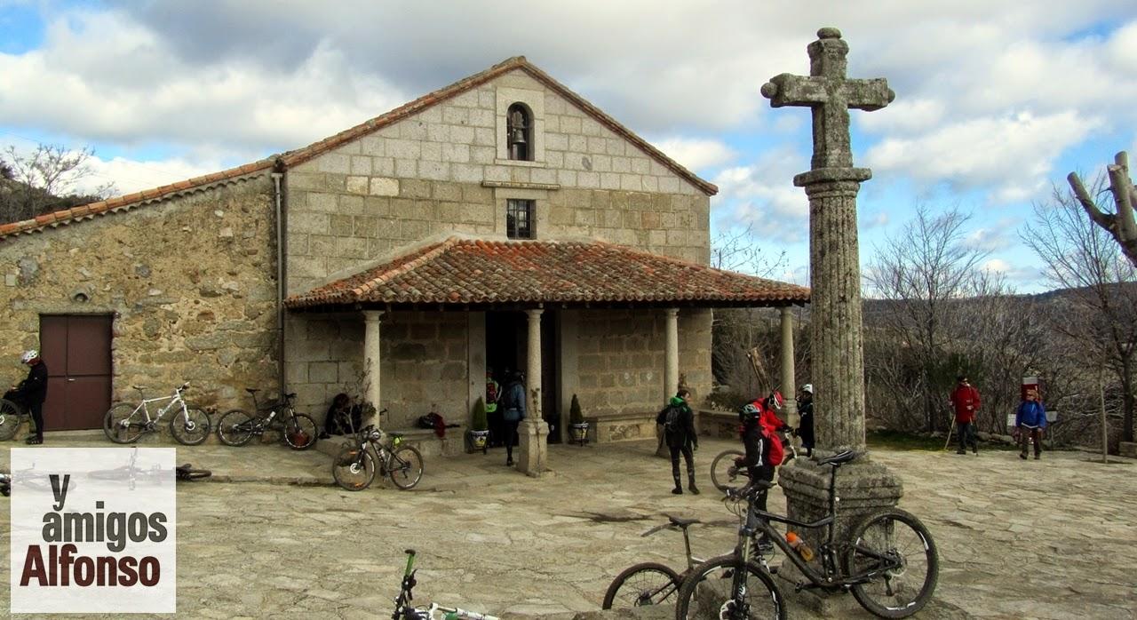 MTB El Escorial - Ermita de Navahonda - Alfonsoyamigos