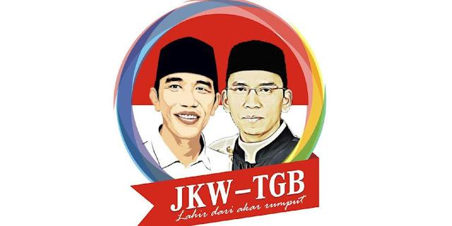 Poster Duet Jokowi-TGB