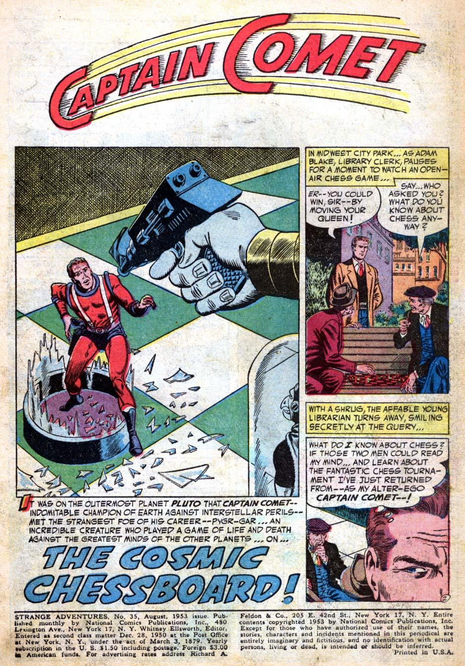 Strange Adventures (1950) issue 35 - Page 3