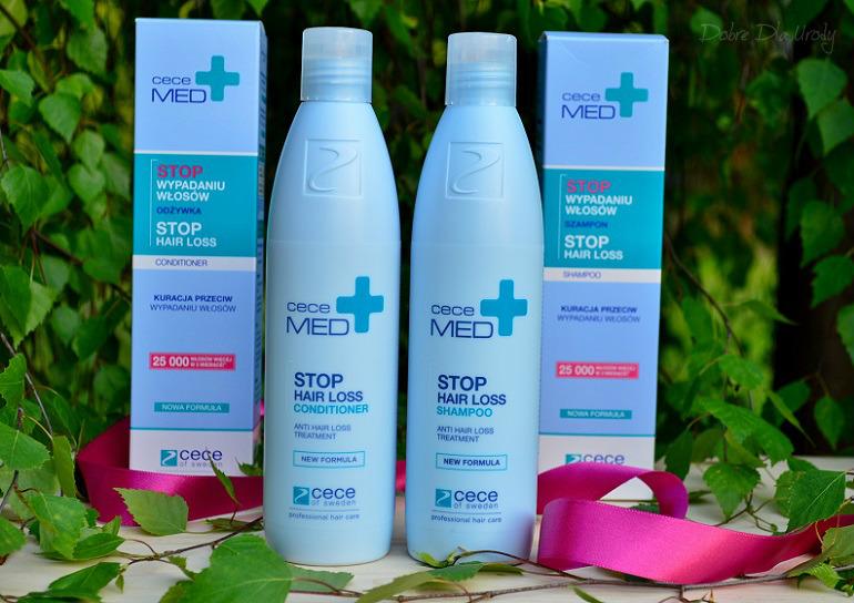Stop wypadaniu włosów - kuracja Cece MED Prevent Hair Loss