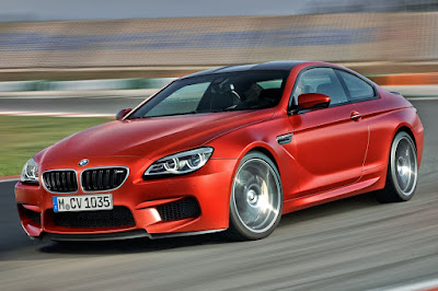 2016 BMW M6 Coupe in on road