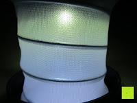 Mittelteil: OUTAD 2-in-1 Outdoor Wireless Bluetooth Lautsprecher & LED Lampe mit eingebautem Mikrofon, einstellbarem Licht und Broadcom 3.0