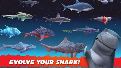 Hungry Shark Evolution مهكرة