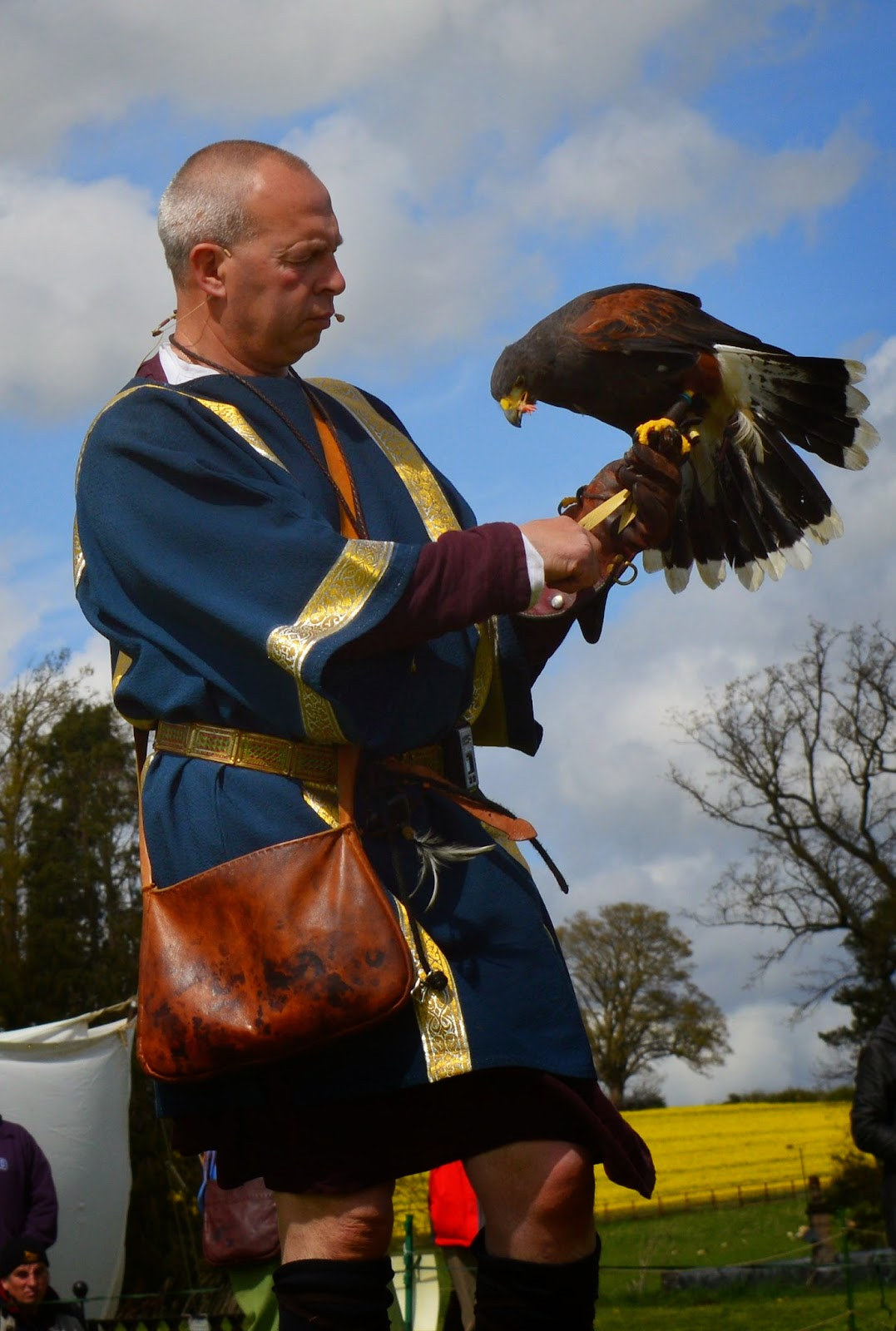 Hadrian's Wall Live 2016 | Birdoswald Roman Fort & Housesteads - A Review - Roman falconry
