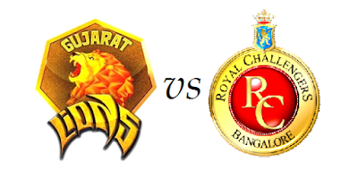 Royal Challengers Bangalore vs Gujarat Lions Highlights