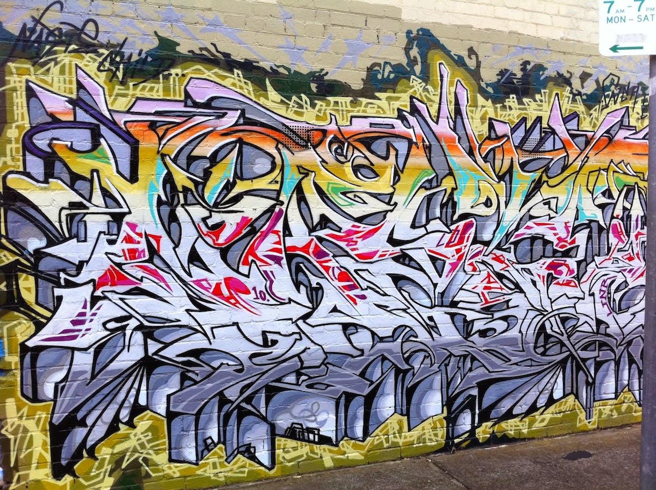 Gambar Grafiti Di Tembok Jalanan  Sobgrafiti