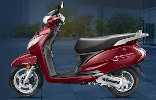 Honda Activa 125 Red Color Scooty