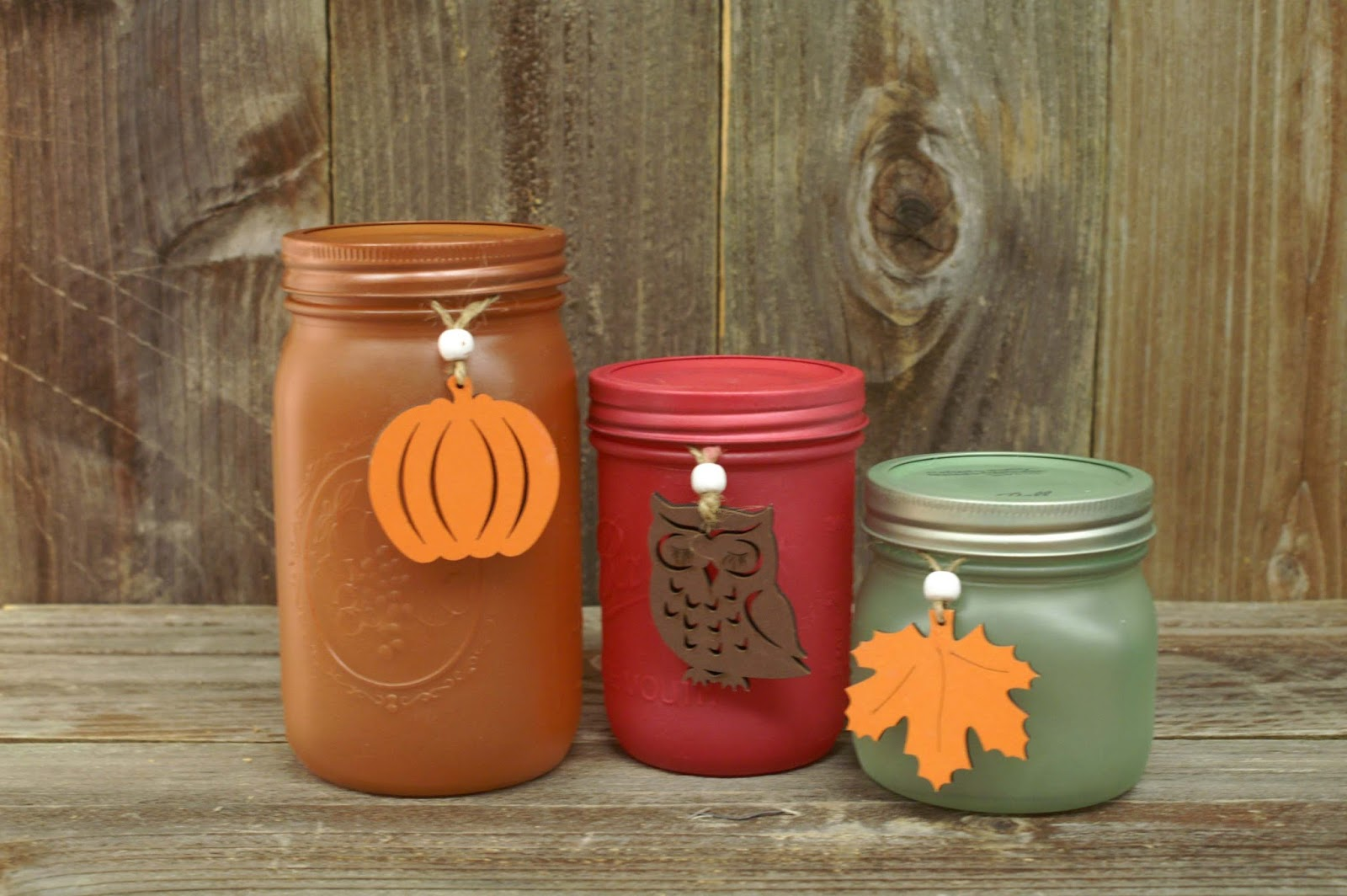Ben franklin crafts and frame shop paint mason jars for for Diy fall mason jars