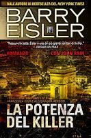 Barry Eisler-La potenza del killer-Traduzione di Francesca Cosi e Alessandra Repossi-copertina